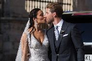 """Serxio Ramos evləndi - <b style=""""color:red"""">Şəkillər</b>"""
