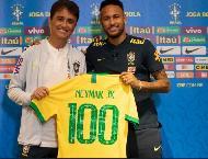 Neymar 100-ə çatdı